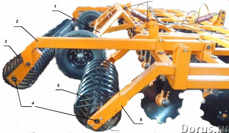 Борона дисковая БДМ (навесная, прицепная) - Сельхоз и спецтехника - Производим и реализуем бороны ди..., фото 8